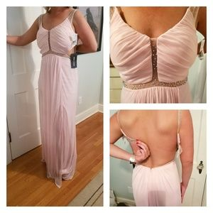 La Femme Dresses - Pale Pink Full Length Formal NWT